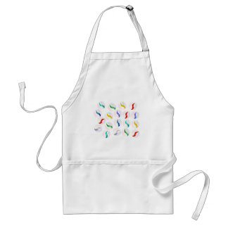 Collection Of Glass Marbles Adult Apron