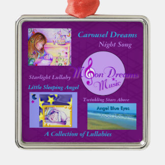 Collection of Lullabies Square Ornament