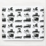 Collection of old and classic cars mousepads