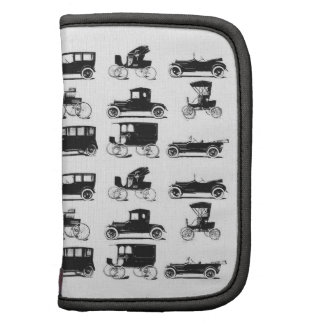 Collection of old and classic cars organizers