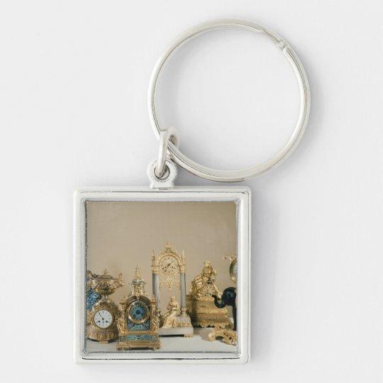 Collection of Pendules de Paris Keychain