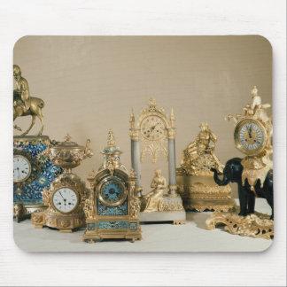 Collection of Pendules de Paris Mouse Pad