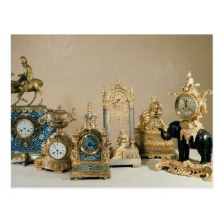 Collection of Pendules de Paris Postcard