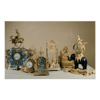 Collection of Pendules de Paris Poster