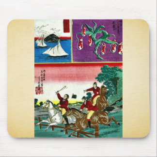 Collection of reported international treasures mousepads