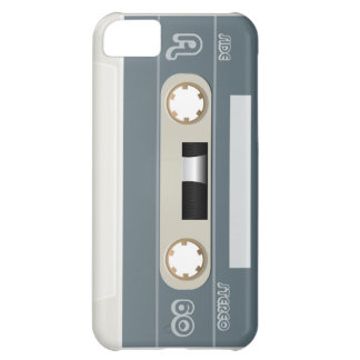 Collection of Retro Audio Cassette Tapes iPhone 5C Cover