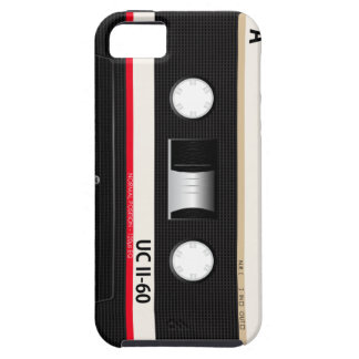 Collection of Retro Audio Cassette Tapes iPhone SE/5/5s Case