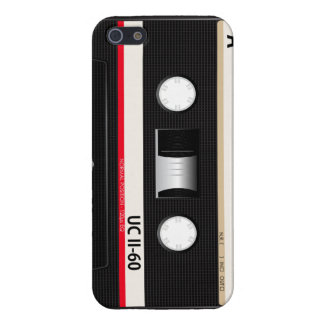 Collection of Retro Audio Cassette Tapes iPhone SE/5/5s Cover