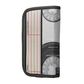 Collection of Retro Audio Cassette Tapes Folio Planner