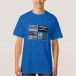Collection of Retro Audio Cassette Tapes Shirt