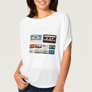 Collection of Retro Audio Cassette Tapes T Shirt