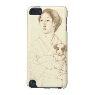Collection of Sketches of Beauties, Graphite art iPod Touch 5G Cover