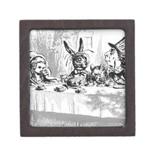 Collection of Vintage Alice in Wonderland Keepsake Box