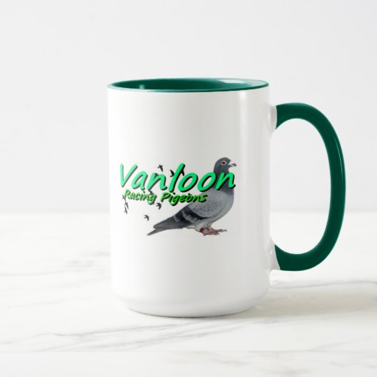 Collection Series Vanloon racing Pigeons Mug