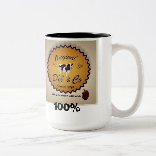 Collection Trade Dëê 2011 Two-Tone Coffee Mug