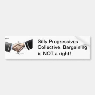 Collective Bargaining Car Bumper Sticker