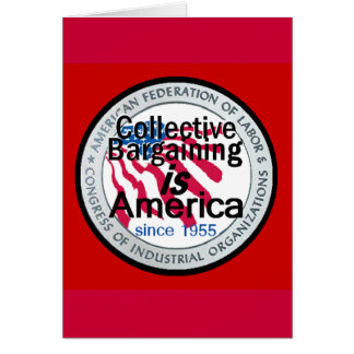 Collective Bargaining Card
