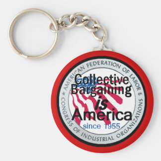 Collective Bargaining Keychain
