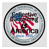 Collective Bargaining POSTER Print