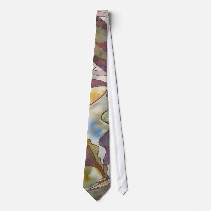 Collective Consciousness Watercolor Tie