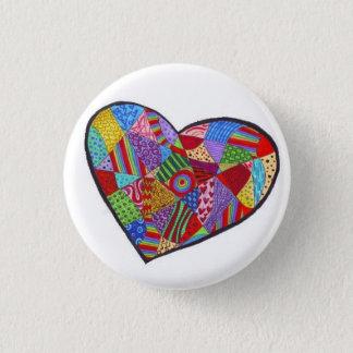 Collective Face logo Pinback Button