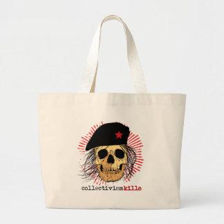 Collectivism Kills Jumbo Tote Bag