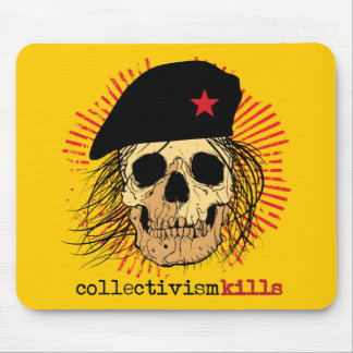 Collectivism Kills Mouse Pad