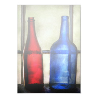 Collector - Bottles - Two empty wine bottles Card