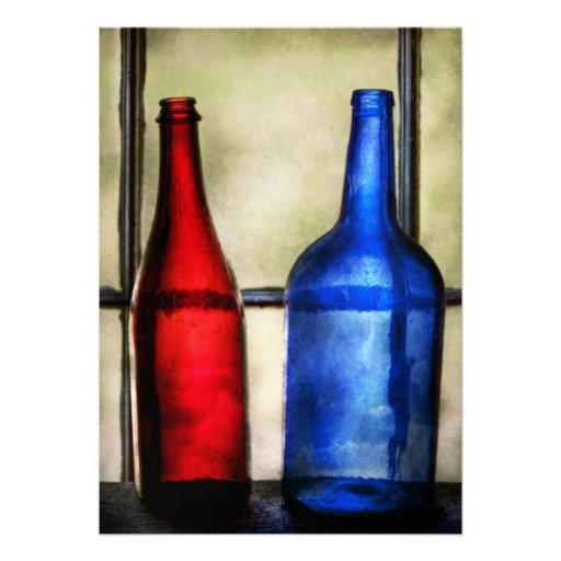 Collector bottles two empty wine bottles custom for What can you do with empty wine bottles