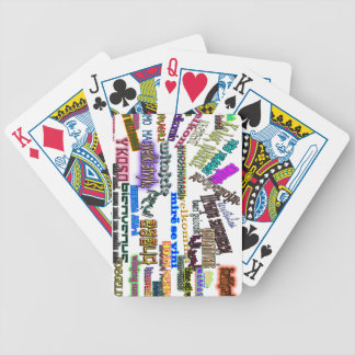 """collectors edition playing cards """"Welcome"""""""