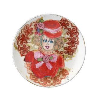 Collectors item Sallie by edith-joy designs Plate