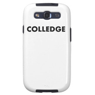 Colledge Samsung Galaxy S3 Cases