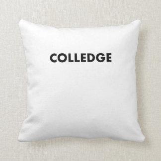 Colledge Throw Pillow