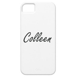 Colleen artistic Name Design iPhone 5 Cases
