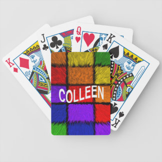 COLLEEN BICYCLE PLAYING CARDS