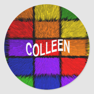 COLLEEN CLASSIC ROUND STICKER