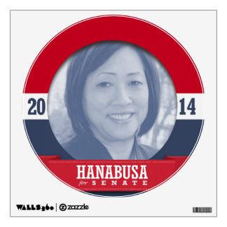 COLLEEN HANABUSA CAMPAIGN WALL DECAL