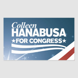 Colleen Hanabusa Rectangular Sticker