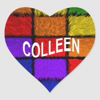 COLLEEN HEART STICKER