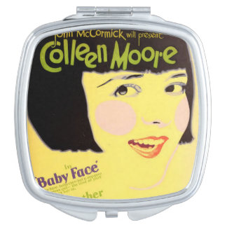 Colleen Moore 1927 silent movie exhibitor ad Mirror For Makeup