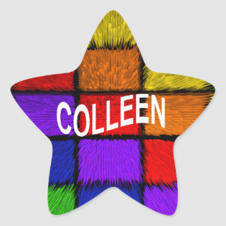 COLLEEN STAR STICKER