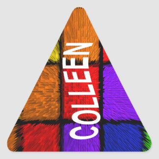COLLEEN TRIANGLE STICKER