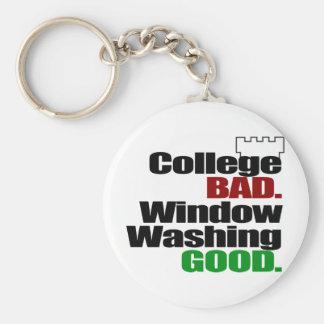 College BAD Keychain