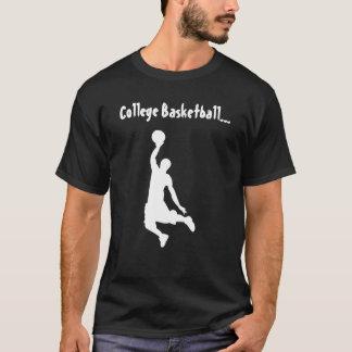 College Basketball Dunker Dark - T-Shirt