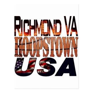 College Basketball Hoopstown Postcard