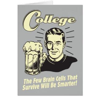 College: Brain Cells Survive Smarter Card