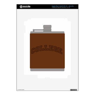 College Decals For iPad 3