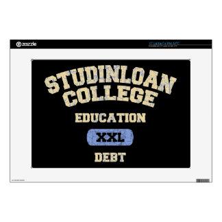 College Education Debt Laptop Skin