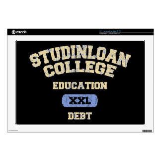 College Education Debt Laptop Skins