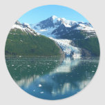 College Fjord I Scenic Alaska Cruising Classic Round Sticker